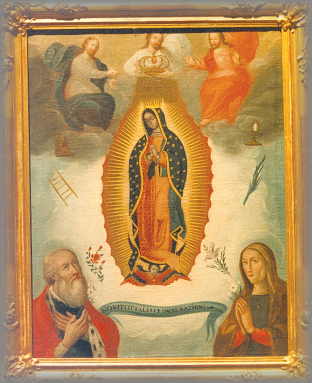 ARTIST: Anon 'Queen of Heaven' - 18c