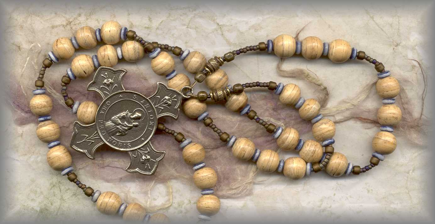 CHAPLET: CAFD.5030 - St Anthony, (finder of lost items)