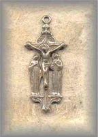 ECRX.313 - JESUS/ MARY/JOHN  (crucifix) - Europe/unknown - (1 in.)