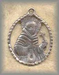 LA.MSF.4 - SAINT FRANCIS - antique, Latin America/19c - (1.25.)