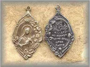 ** FEMALE SAINT MEDALS - (PC 15)