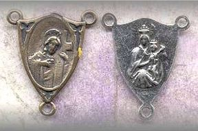RC.28 - SH/CARMEL (Scapular) - vintage, Europe/1930 - (.75 in.)