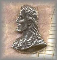 SS.MJC.001 - SACRED HEART, FACE OF JESUS -  (1 in.)