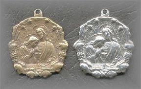 M.HC.1 - CHRIST EMBRACING - antique, origin unknown - (1 in.)