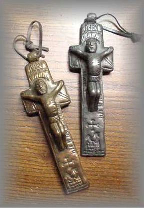 ~ WG.36 - 16c PENAL CROSS - (6.5 in.)