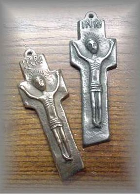 ~ WG.38 - MINIATURE PENAL CROSS - (4 in.)